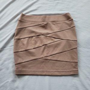 💫5/$22💫 Charlotte Russe Light Pink Bodycon Skirt